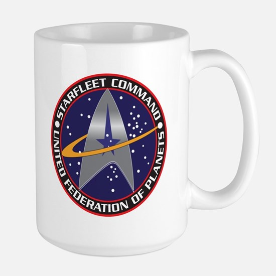 STARFLEET COMMAND Large Mug
