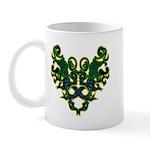 Green Scrolls Mug