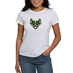 Green Scrolls Women's T-Shirt