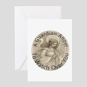Guardian Angel Greeting Card