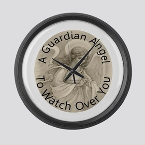Guardian Angel Large Wall Clock