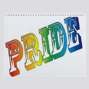 gay pride wall calendar