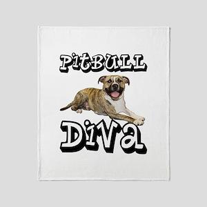 PitBull DIVA Throw Blanket