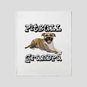 PitBull GRANDPA Throw Blanket