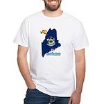 ILY Maine White T-Shirt