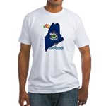 ILY Maine Fitted T-Shirt