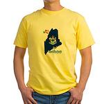 ILY Maine Yellow T-Shirt