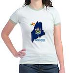 ILY Maine Jr. Ringer T-Shirt