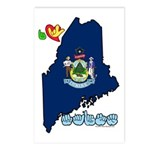 ILY Maine Postcards (Package of 8)
