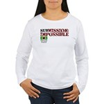 SubMission Impossible Women's Long Sleeve T-Shirt