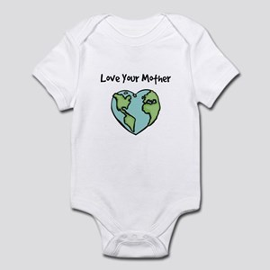 """""""Love Your Mother"""" Infant Creeper"""