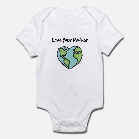 """Love Your Mother"" Infant Creeper"