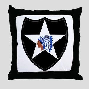 Indianhead Throw Pillow