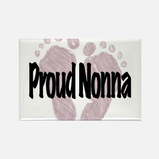 Proud Nonna (Girl) Rectangle Magnet