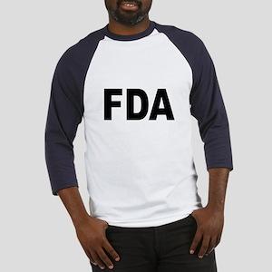 FDA Food and Drug Administration (Front) Baseball