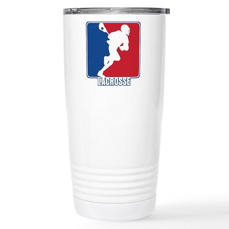 Major League Lacrosse Stainless Steel Travel Mug