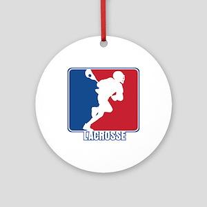 Major League Lacrosse Ornament (Round)