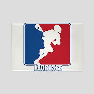 Major League Lacrosse Rectangle Magnet