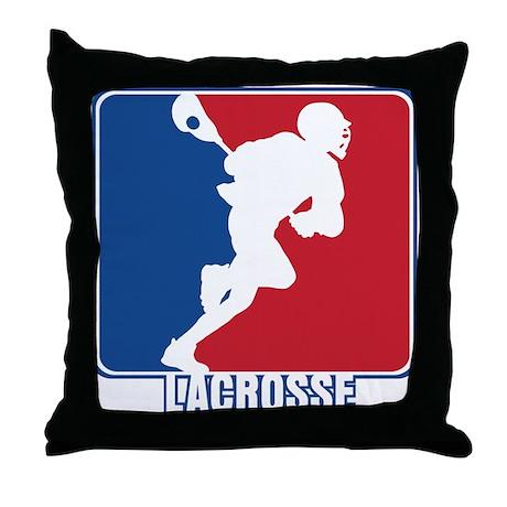 Major League Lacrosse Throw Pillow