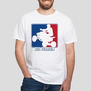 Major League ATV White T-Shirt