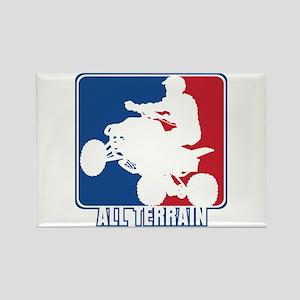 Major League ATV Rectangle Magnet