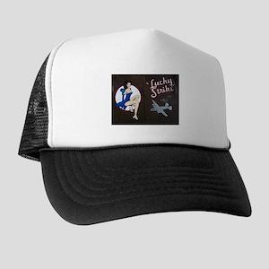 Lucky Strike Nose Art Trucker Hat