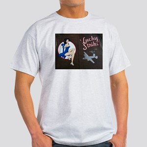 Lucky Strike Nose Art Light T-Shirt