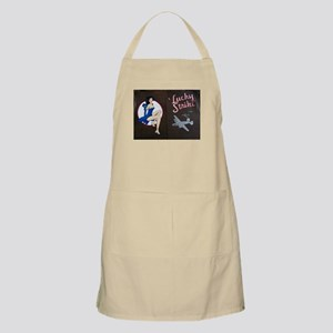Lucky Strike Nose Art Apron