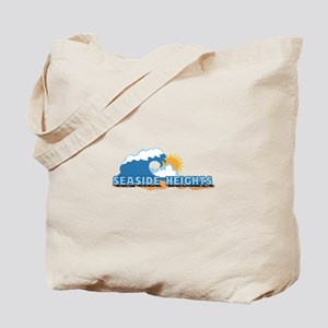 Seaside Heights NJ - Waves Design. Tote Bag