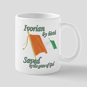 Ivorian by birth Mug