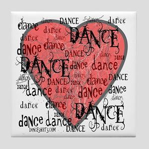 Funky Dance by DanceShirts.com Tile Coaster