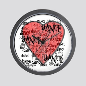 Funky Dance by DanceShirts.com Wall Clock