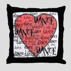 Funky Dance by DanceShirts.com Throw Pillow