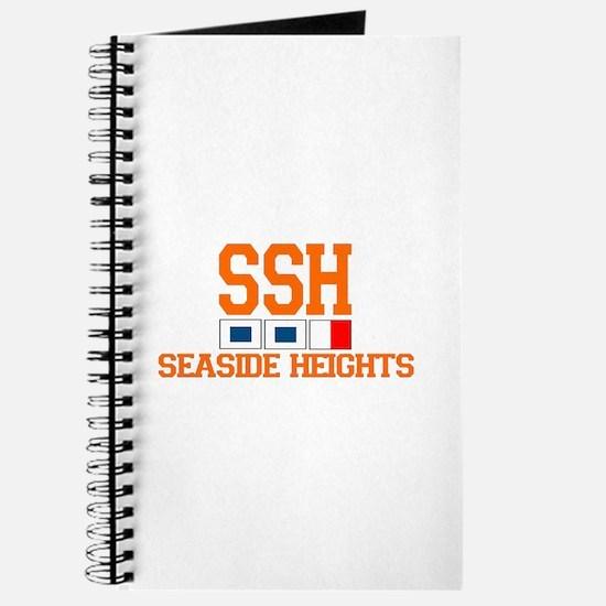 Seaside Heights NJ - Nautical Flags Design. Journa