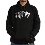 Snow Mountains Hoodie (dark)