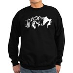 Snow Mountains Sweatshirt (dark)