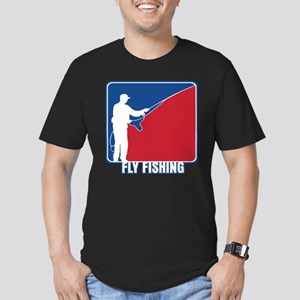 Major League Fly Fishing Men's Fitted T-Shirt (dar