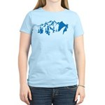 Snow Mountains Women's Light T-Shirt