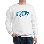 Snow Mountains Sweatshirt