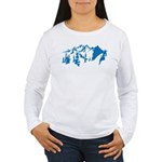 Snow Mountains Women's Long Sleeve T-Shirt