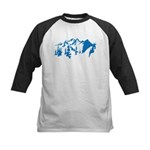 Snow Mountains Kids Baseball Jersey