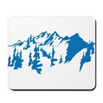 Snow Mountains Mousepad