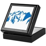 Snow Mountains Keepsake Box