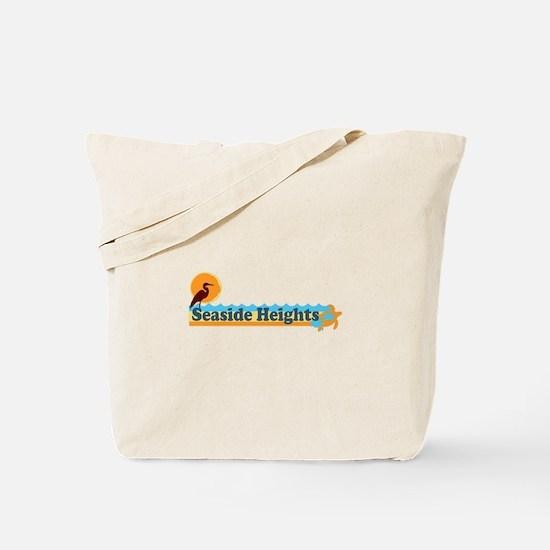 Seaside Heights NJ - Beach Design Tote Bag