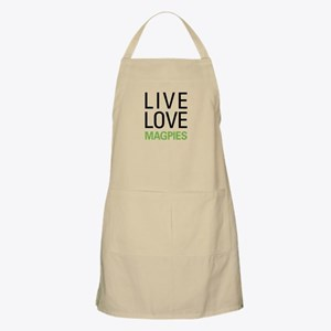 Live Love Magpies Apron