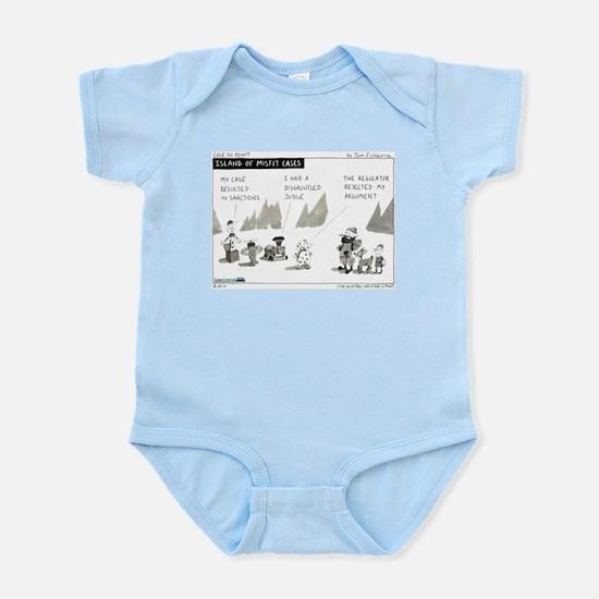 Island of Misfit Cases Infant Bodysuit