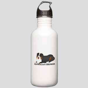 Australian Shepherd Dog Stainless Water Bottle 1.0