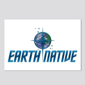 Earth Native, Fed Style Postcards (Package of 8)