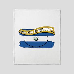 EL SALVADOR Throw Blanket