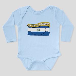 EL SALVADOR Long Sleeve Infant Bodysuit
